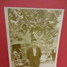 Postales: MERCAT DE SANT ANTONI. BARCELONA. POSTAL FOTOGRÁFICA . ORIGINAL FECHADA EN 1926. Lote 84823216