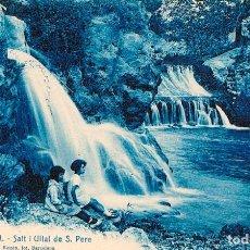Postales: CENIA (TARRAGONA) SALT I ULLAL DE S. PERE, EDITOR ROISIN Nº 12. Lote 84915500