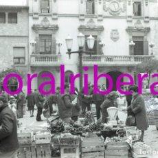 Postales: NEGATIVO ESPAÑA BARCELONA VILAFRANCA DEL PENEDÈS MERCADO 1973 ILFORD 35MM PHOTO FOTO MERCAT MARKET. Lote 84932080