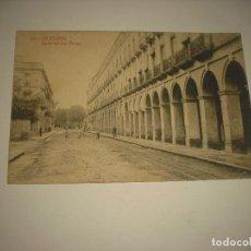 Postales: LA BISBAL 10. CALLE DE LOS ARCOS . THOMAS . CIRCULADA 1920. Lote 85172168
