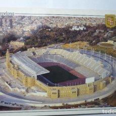Postales: POSTAL BARCELONA FUTBOL ESTADI OLIMPIC. Lote 85342992