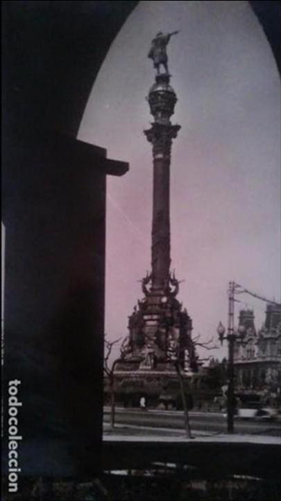 BARCELONA - MONUMENTO A COLON (Postales - España - Cataluña Moderna (desde 1940))