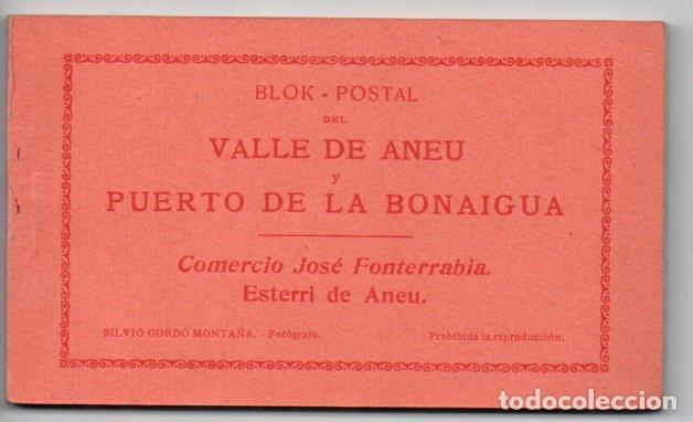 BLOK-POSTAL DEL VALLE DE ANEU Y PUERTO DE LA BONAIGUA - 20 POSTALES (Postales - España - Cataluña Antigua (hasta 1939))