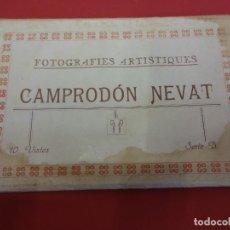 Postales: CAMPRODON NEVAT. BLOC 10 POSTALS FOTOGRÁFIQUES. ORIGINAL ANYS 30S. Lote 86199236