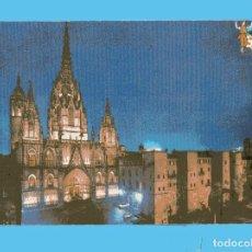 Postales: POSTAL DE BARCELONA CATEDRAL Y MURALLA ROMANAS Nº 225 EDITOR BEASCOA CIRCULADA SIN SELLO EL AÑO 1968. Lote 86282748