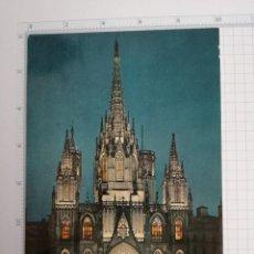Postales: POSTAL Nº 2003 - CATALUÑA - BARCELONA, LA CATEDRAL - ED. ZERKOWITZ 1959. Lote 86282888