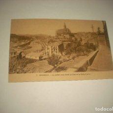 Postales: MANRESA 3. LA CIUDAD VISTA DESDE LA CASA DE LA SANTA CUEVA . SIN CIRCULAR. Lote 86390176