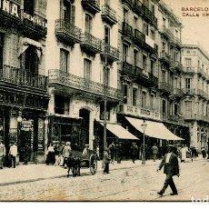 Postales: BARCELONA-CALLE DE FONTANELLA- MISSE- RARA. Lote 86536140