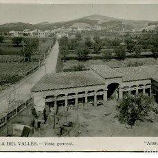 Postales: AMETLLA DEL VALLÉS-VISTA GENERAL.-FOTOGRÁFICA- 1934 -MUY RARA. Lote 86599436