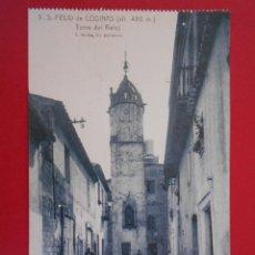 Postales: ANTIGUA POSTAL DE SANT FELIU DE CODINES, CODINAS - (BARCELONA) -TORRE DEL RELOJ - .... R-5996. Lote 86629592