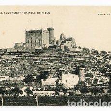 Postales: BARCELONA PLÁ DEL LLOBREGAT CASTELL DE FAELS. ASSOCIACIO PROTECTORA DE ENSEYANSA CATALANA. Lote 86756676