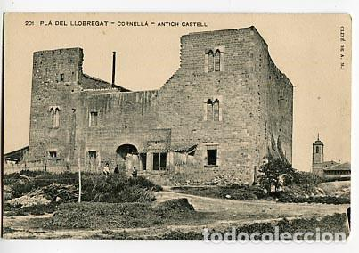 BARCELONA PLA DEL LLOBREGAT CORNELLA, ANTICH CASTELL. ASSOCIACIO PROTECTORA ENSENYANSA CATALANA (Postales - España - Cataluña Antigua (hasta 1939))