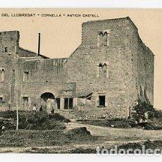 Postcards - BARCELONA PLA DEL LLOBREGAT CORNELLA, ANTICH CASTELL. ASSOCIACIO PROTECTORA ENSENYANSA CATALANA - 86958120