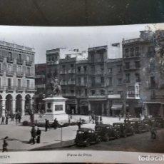 Postales: REUS TARRAGONA, POSTAL FOTOGRAFICA, PLAZA DE PRIM, AÑOS 40.. Lote 87020920