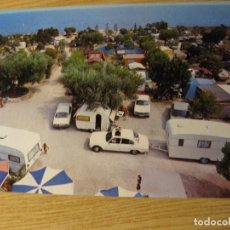 Postales: POSTAL ALCANAR PLAYA . TARRAGONA . CAMPING MARE NOSTRUM . SIN CIRCULAR. Lote 87096044
