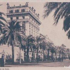 Postales: POSTAL BARCELONA 8 - PASEO DE COLON - ROISIN - CIRCULADA. Lote 87213760