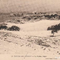 Postales: Nº 31215 POSTAL SITGES BARCELONA COSTES DE GARRAF LA BUFERA . Lote 87329180