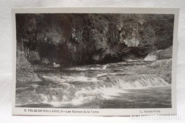 CAT-201-POSTAL FOTOGRÁFICA SAN FELIU DE PALLAROLS-GIRONA-LAS BALMES DE LA TORRA-AÑOS 40-SIN CIRCULAR (Postales - España - Cataluña Moderna (desde 1940))