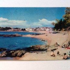 Postales: POSTAL SA CALETA. LLORET DE MAR. COSTA BRAVA CIRCULADA . Lote 87476004