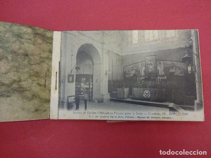 Postales: BLOCK 12 postales RECORT Institut de Cultura i Biblioteca Popular per a la Dona. Barcelona. Falta 1 - Foto 2 - 87785160