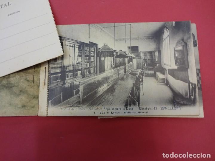 Postales: BLOCK 12 postales RECORT Institut de Cultura i Biblioteca Popular per a la Dona. Barcelona. Falta 1 - Foto 3 - 87785160
