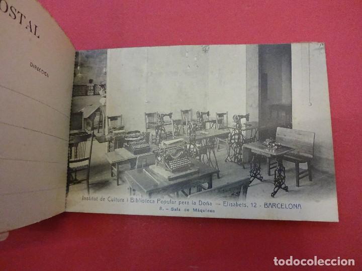 Postales: BLOCK 12 postales RECORT Institut de Cultura i Biblioteca Popular per a la Dona. Barcelona. Falta 1 - Foto 4 - 87785160