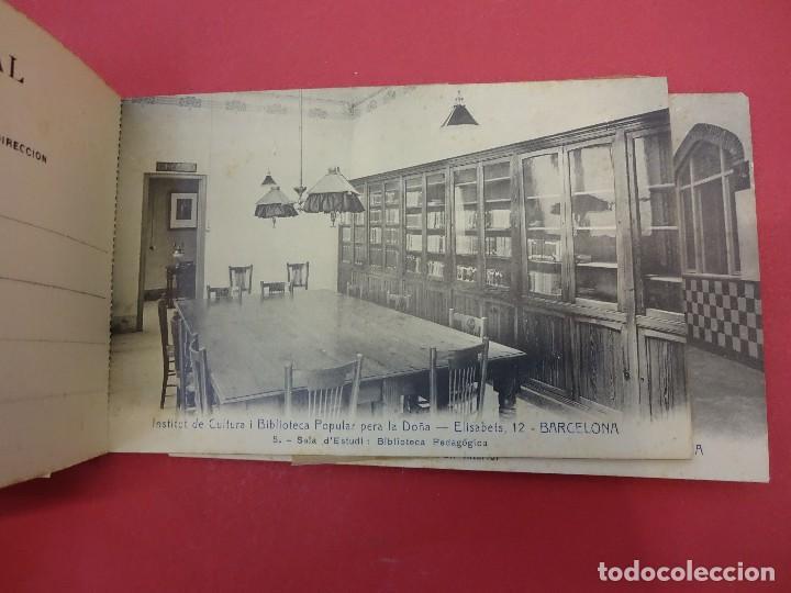 Postales: BLOCK 12 postales RECORT Institut de Cultura i Biblioteca Popular per a la Dona. Barcelona. Falta 1 - Foto 5 - 87785160