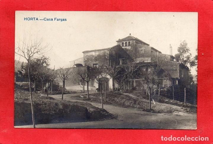 HORTA. CASA FARGAS. FOTOGRÁFICA (Postales - España - Cataluña Antigua (hasta 1939))