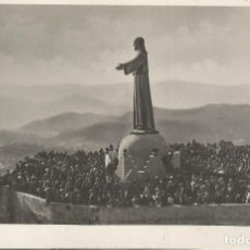 Postales: FOTO / POSTAL TIBIDABO ESTATUA DEL SAGRADO CORAZON DE JESÚS - DORSO EN BLANCO. Lote 88123620