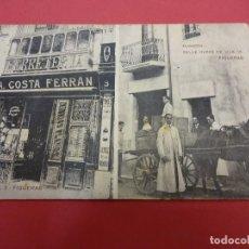 Postales: ANTIGUA POSTAL FERRETERIA COSTA FERRAN. FIGUERAS. AÑOS 1900S. Lote 88167524