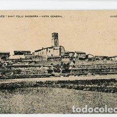 Postales - BARCELONA LLUÇANES, SANT FELIU SASSERRA VISTA GENERAL. ASSOCIACIO PROTECTORA ENSENYANSA CATALANA - 88179240