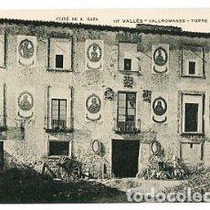 Postcards - BARCELONA VALLÉS VALLROMANES TORRE TABERNERA ASSOCIACIO PROTECTORA ENSENYANSA CATALANA - 88180160