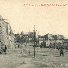 Postales: TARRAGONA - PASEO DE PI Y MARGALL - ATV Nº403. Lote 88965156