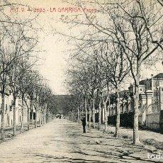 Postales: 2505 LA GARRIGA - PASEO - ATV Nº2505 CIRCULADA 1909. Lote 88967428
