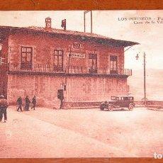 Postales: POSTAL ANTIGUA DE LOS PIRINEOS EN BLANCO NEGRO SEPIA. AÑOS 20. SIN USAR.. Lote 89016380
