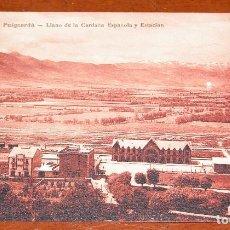 Postales: POSTAL ANTIGUA DE LOS PIRINEOS EN BLANCO NEGRO SEPIA. AÑOS 20. SIN USAR.. Lote 89016452