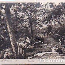 Postales: POSTAL FOTOGRAFICA SANT FELIU DE CODINES FUENTE DEL FONOLL FOT. UMBERT. Lote 89064844