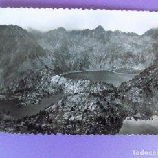 Postales: POSTAL REGION DE ESPOT SAN NICOLAU (LLEIDA , LERIDA) ESTANY NEGRO Y CRESTA DEL AVION ... R-6350. Lote 89753112