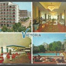 Postales: CALELLA (BARCELONA) HOTEL VISTORIA - FOTOGRAFIA PLANCHART 1973 - CALELLA -. Lote 89825960