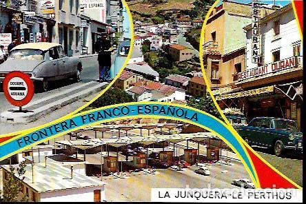 POSTAL * FRONTERA FRANCO ESPAÑOLA , EL PERTUS * 1967 (Postales - España - Cataluña Moderna (desde 1940))