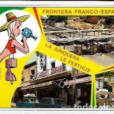 Postales - POSTAL * FRONTERA FRANCO ESPAÑOLA , LA JONQUERA -PERTUS . ELS LIMITS * 1967 - 128134590