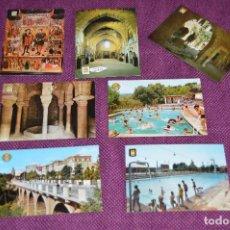 Postales: LOTE DE 7 ANTIGUAS POSTALES DE TARRASA, BARCELONA - SIN CIRCULAR - MUY BONITAS - HAZME OFERTA. Lote 90423564