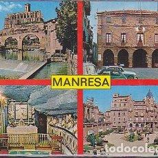 Postales: POSTAL MANRESA CAPITAL DE LA COMARCA DEL BAGES . Lote 90650625