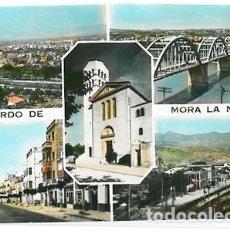 Cartes Postales: TARRAGONA MORA LA NUEVA DIVERSOS ASPECTOS DE LA POBLACION. FOTO RAYMOND. CIRCULADA. Lote 91282355