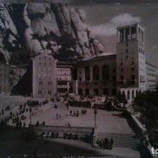 Postales: BARCELONA - MONTSERRAT - 5. PLAZA DEL MONASTERIO. Lote 91923130