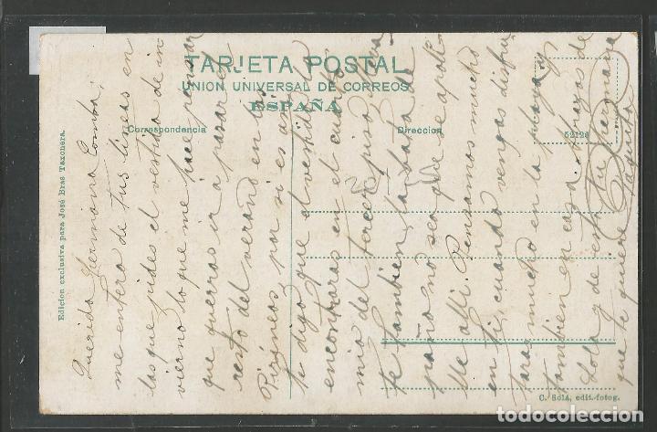 Postales: ARENYS DE MAR - POSTAL- GENTE DE MAR PREPARANDO LA SALIDA - JOSE BRAS - (50.008) - Foto 2 - 92040775