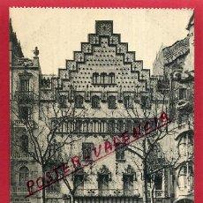 Postcards - POSTAL BARCELONA , CASAS PALACIOS MODERNOS , PASEO DE GRACIA 41 , ORIGINAL , P86287 - 92042405