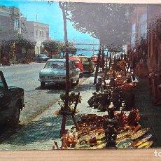 Postales: SAN CARLOS DE LA RÁPITA - TARRAGONA - CALLE TÍPICA - POSTAL CIRCULADA EN 1975. Lote 95543899