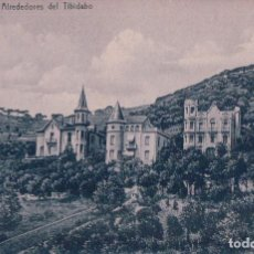Postales: POSTAL BARCELONA . ALREDEDORES DEL TIBIDABO. Lote 92806155