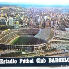 Postales: POSTAL BARCELONA ESTADIO FUTBOL . Lote 92900455